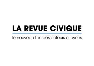 Media logo Revue Civique avec baseline